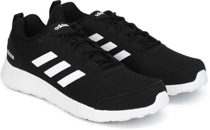 adidas black walking shoes