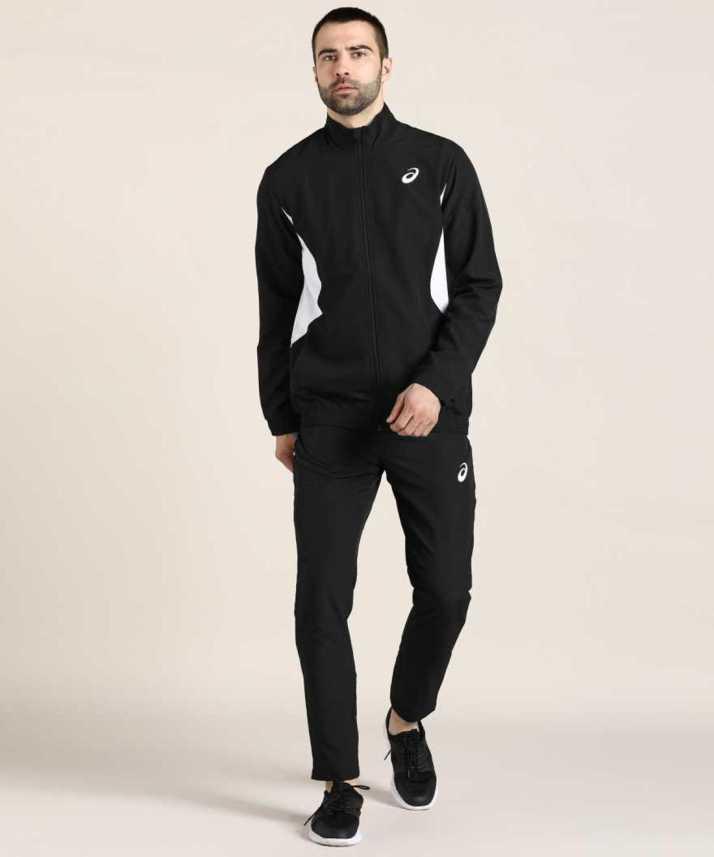 asics Solid Men Track Suit