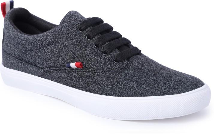 Shoe Fellow Black Casual Shoes Casuals