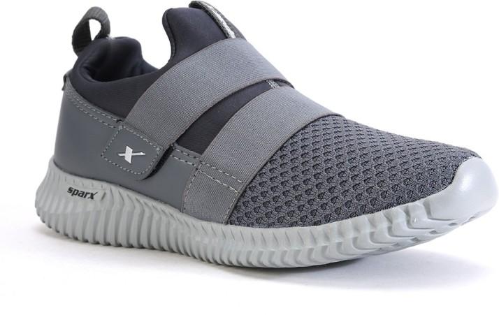 Sparx Men SM-406 Grey Running Shoes For
