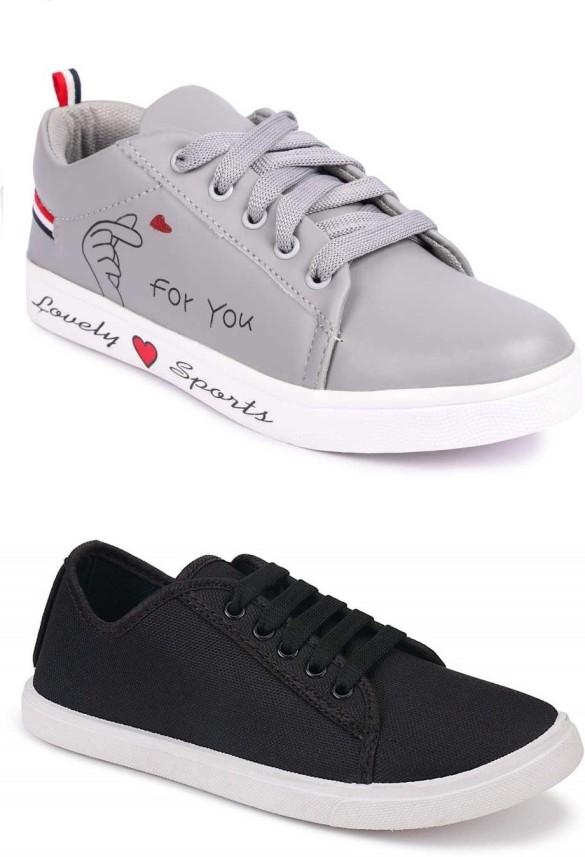 Combo Shoe Party Wear Sneakers Women