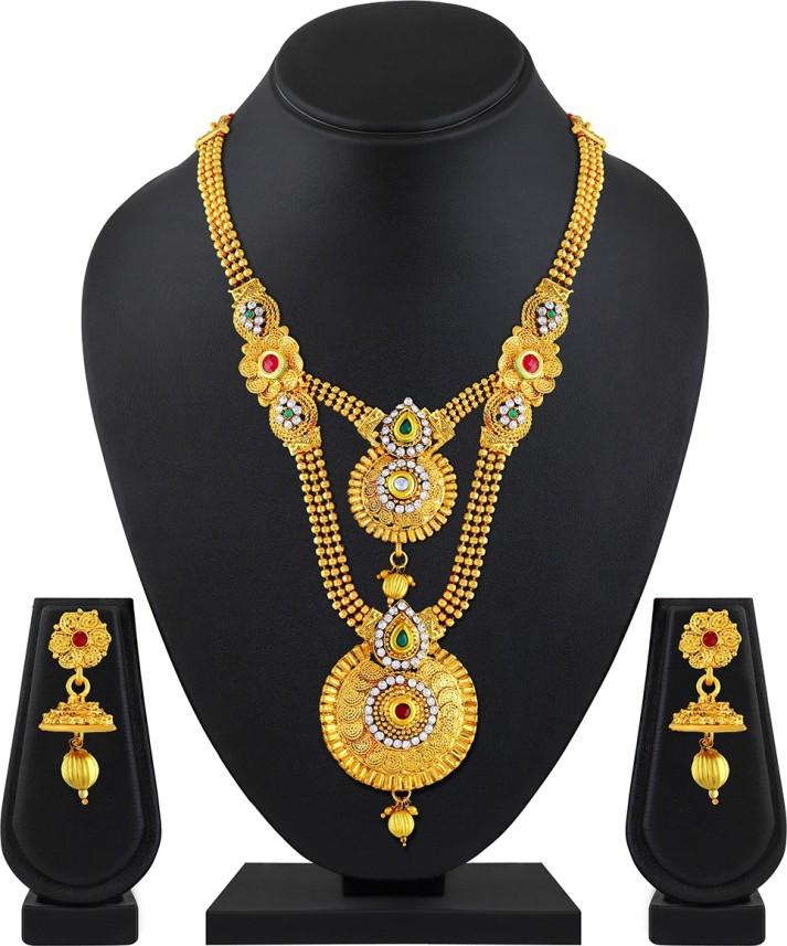 Asmitta Jewellery Zinc Jewel Set Price