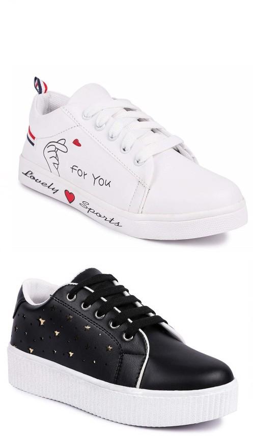 Combo Shoe Golden Star Sneakers
