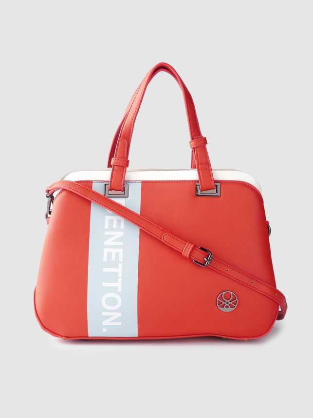 Of Benetton Women Red Hand Held Bag