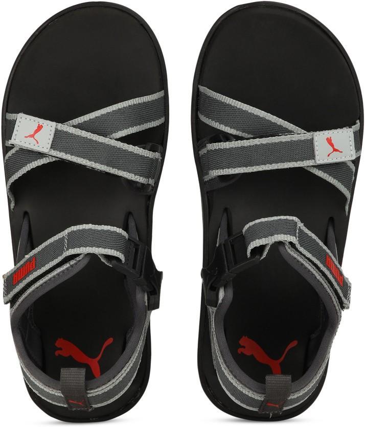 Puma Men Grey Sports Sandals - Buy Puma