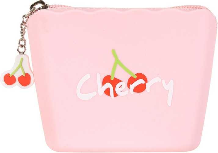 MINISO Fruit Coin Purse Zipper Pouch Case Portable Handbag for Women Girls,  Pink Coin Purse Pink - Price in India | Flipkart.com
