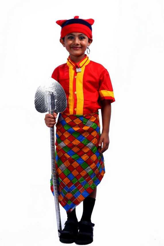 2c8fbfc0253 SBD Koli boy indian Fancy dress costume for kids Kids Costume Wear ...