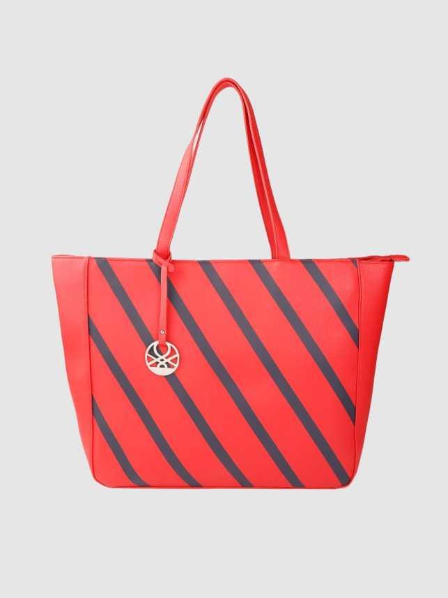 Colors Of Benetton Women Red Handbag