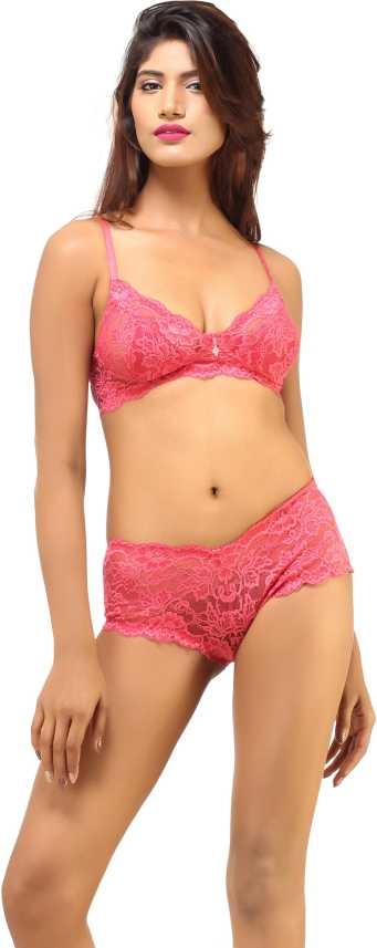 3a997f497b27 DesiHarem Wedding Lingerie Set - Buy Pink DesiHarem Wedding Lingerie Set  Online at Best Prices in India | Flipkart.com