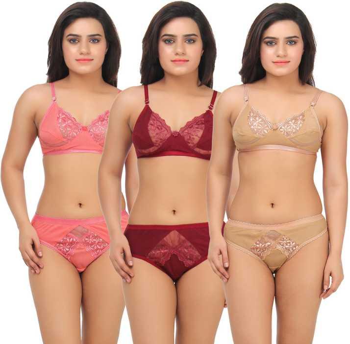 df749f630 Embibo Lingerie Set - Buy Multicolor Embibo Lingerie Set Online at Best  Prices in India