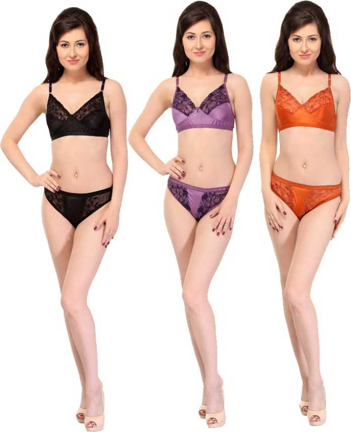 720c4ce51d9f3 SK Dreams Lingerie Set - Buy Multicolor SK Dreams Lingerie Set Online at Best  Prices in India | Flipkart.com