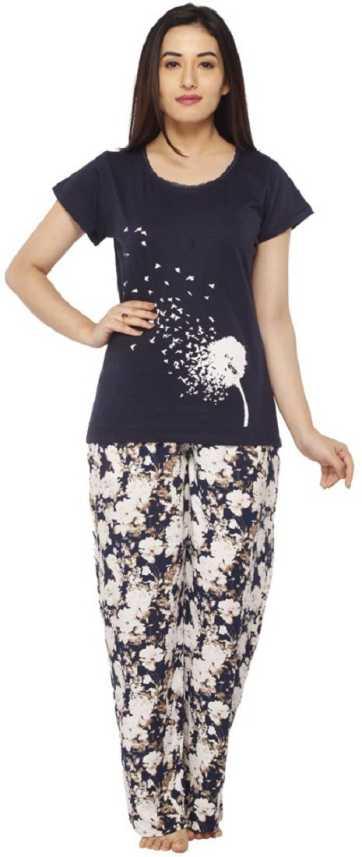Vixenwrap Women s Printed Multicolor Top   Pyjama Set Price in India - Buy  Vixenwrap Women s Printed Multicolor Top   Pyjama Set at Flipkart.com Top  ... 279a3d70c