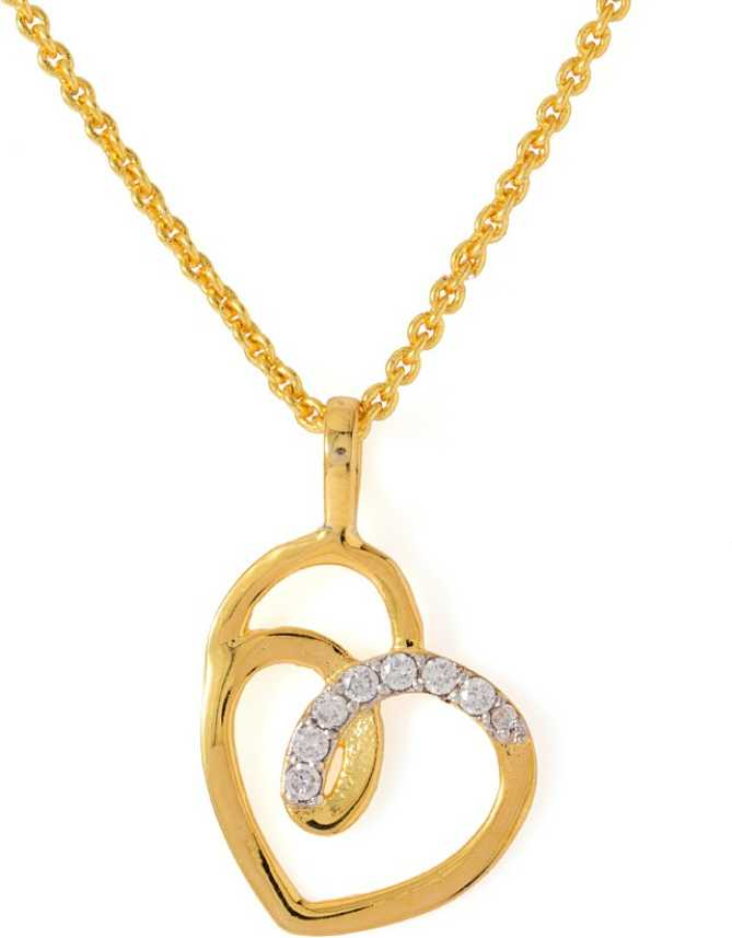 e8cdea1a80e19 Voylla Artificial Classic Plain Gold-plated Cubic Zirconia Alloy Pendant  Price in India - Buy Voylla Artificial Classic Plain Gold-plated Cubic  Zirconia ...