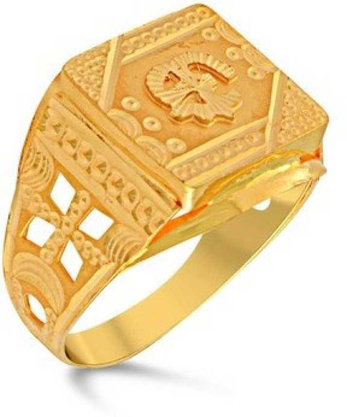 Velvetcase 22k Gold Rings Gold Ring Price In India Buy