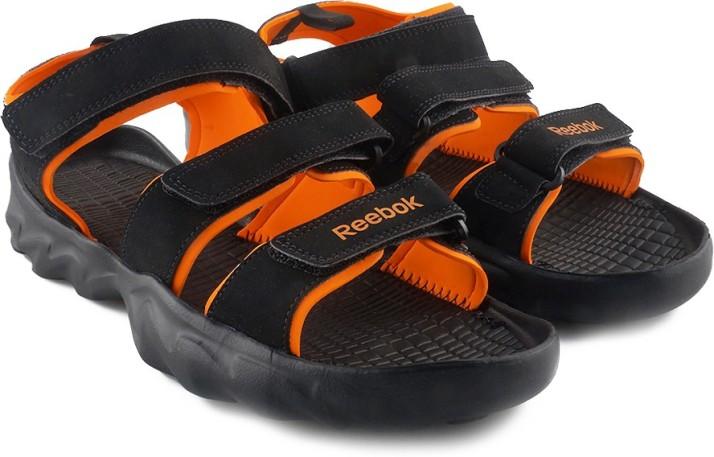 ULTRA CHROME Men Black Sports Sandals