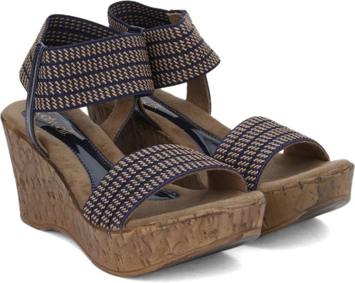 Catwalk Fashion Women Blue Heels - Buy