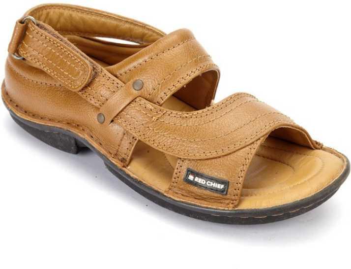 59ffbbe8ee30 Red Chief Men Tan Sandals - Buy Tan Color Red Chief Men Tan Sandals Online  at Best Price - Shop Online for Footwears in India