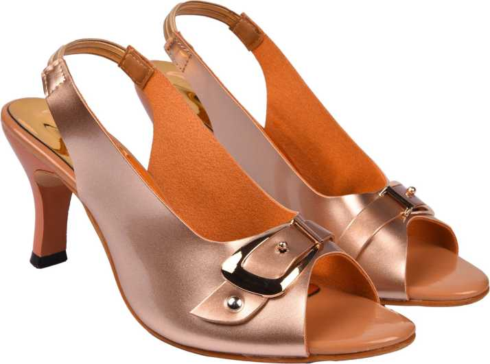 d3f73f18605c Jade Women Rosegold Heels - Buy Rosegold Color Jade Women Rosegold Heels  Online at Best Price - Shop Online for Footwears in India | Flipkart.com