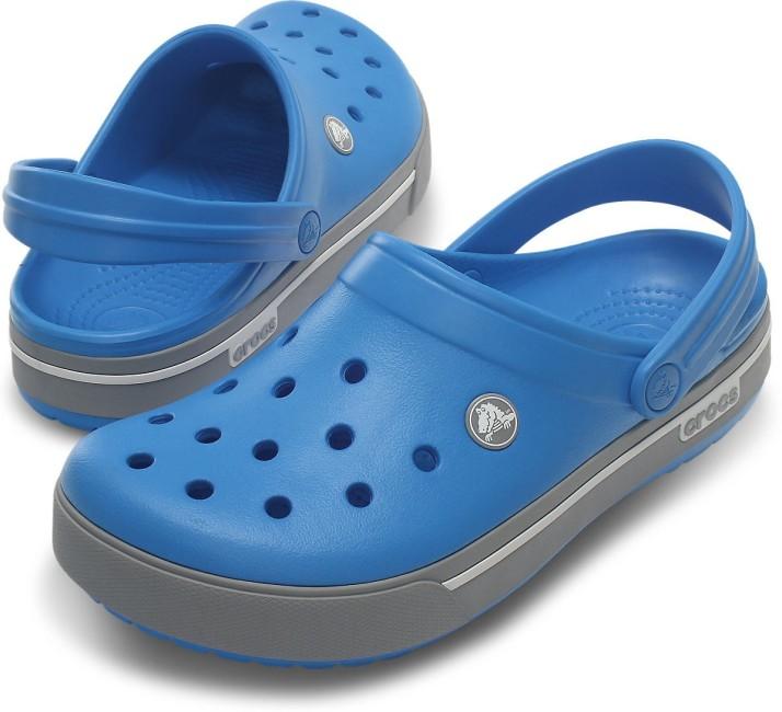 12836-4D7 Color Crocs Women Blue Clogs