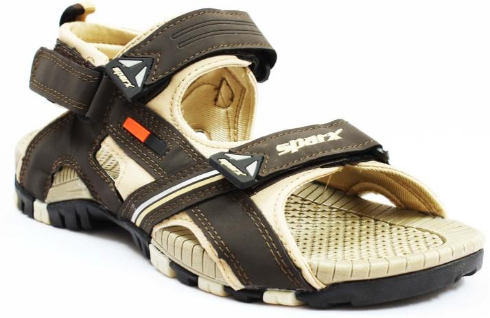 Sparx Men Brown Sandals - Buy Sparx Men