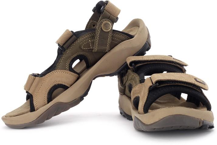 Woodland Men Brown Sports Sandals - Buy