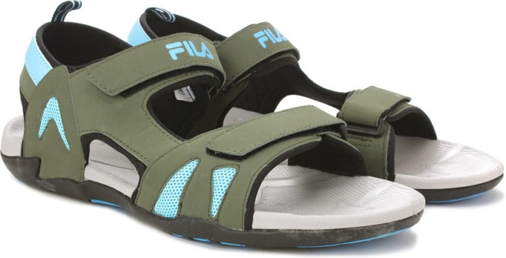 Fila Men Green Sports Sandals - Buy OLV