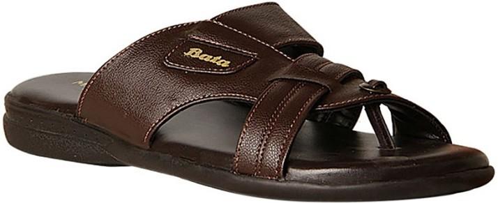 Bata Men Brown Sandals - Buy Brown
