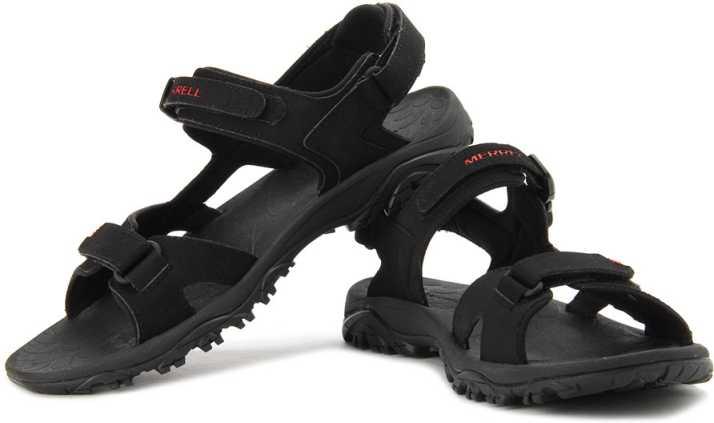 Förvåning Inkompetens detta  Merrell Siltwater Strap Men Red, Black Sports Sandals - Buy Black ...