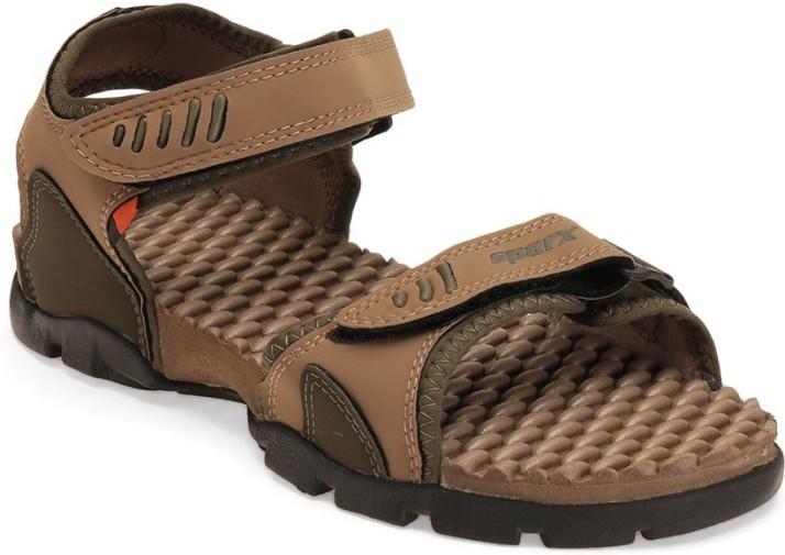 Sparx Men Brown Sandals - Buy olive