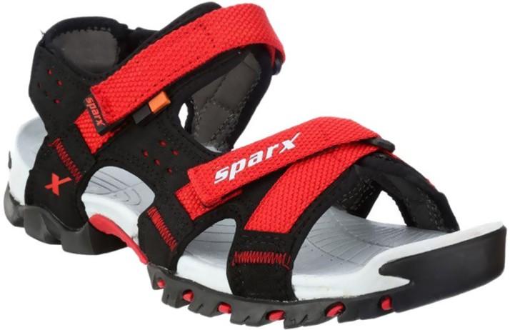 Sparx Men Black Sandals - Buy Black