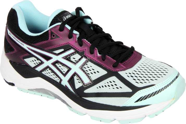 Tomar medicina Abolido Una vez más  Asics GEL-FOUNDATION 12 (D) Running Shoes For Women - Buy BLACK/SOOTHING  SEA/PHLOX Color Asics GEL-FOUNDATION 12 (D) Running Shoes For Women Online  at Best Price - Shop Online for Footwears in India