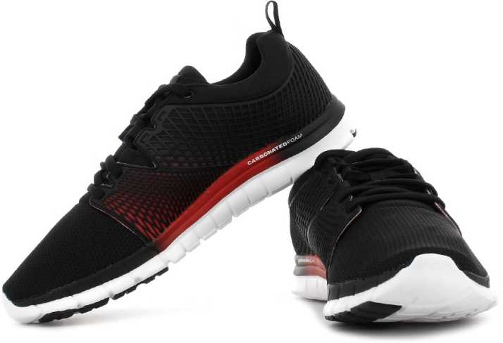 enfermero resistirse seriamente  REEBOK Zquick Dash Running Shoes For Men - Buy Black, Red, White-Gp Color REEBOK  Zquick Dash Running Shoes For Men Online at Best Price - Shop Online for  Footwears in India