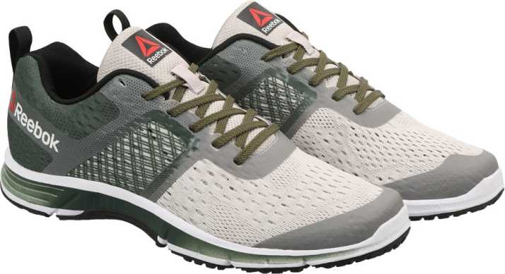 8cb6b97626b9 REEBOK RIDE ONE Running Shoes For Men - Buy GREEN SAND STONE BLK WHT Color REEBOK  RIDE ONE Running Shoes For Men Online at Best Price - Shop Online for ...