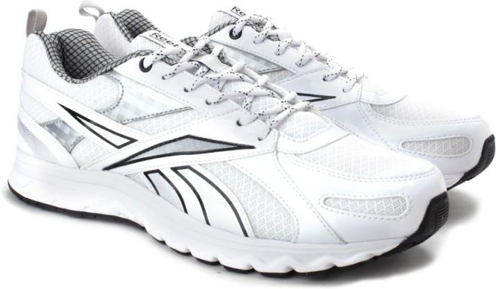 reebok acciomax 6.0 white running shoes
