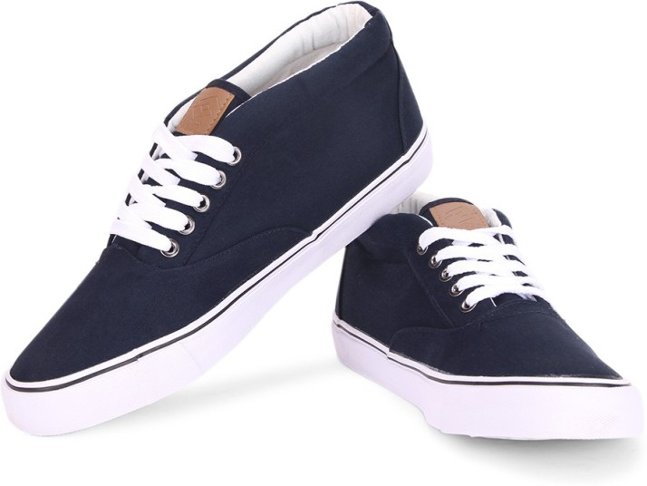 Lotto mid Canvas Shoes For Men - Buy