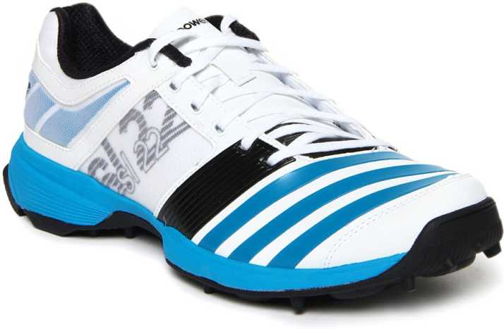 ADIDAS SL22 Cricket Spikes Blue Cricket Shoes For Men - Buy White ...