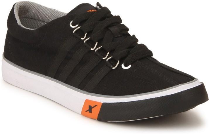 Sparx Sneakers For Men - Buy Black