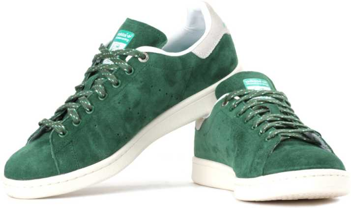 premium selection 13023 8d907 ADIDAS ORIGINALS Stan Smith Skateboarding Sneakers For Men (Green, Grey)