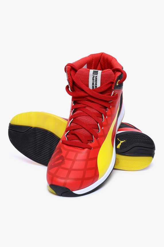cheap for discount 7c1ca 1b10a Puma Ferrari Evospeed 1.4 Sf Mid 10 Motorsport Shoes For Men (Red)