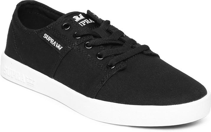 Supra Casual Shoes For Men - Buy Black