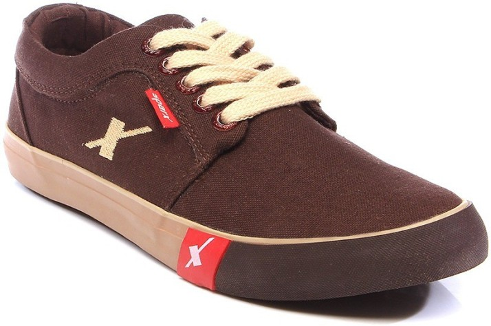 Sparx Canvas Shoes For Men - Buy Brown