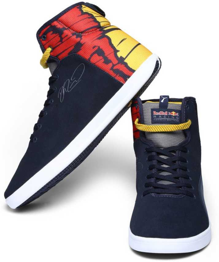 0eba16eb0c2 Puma Red Bull RBR TURBULENCE XTREM RIC Motorsport Shoes For Men (Blue)