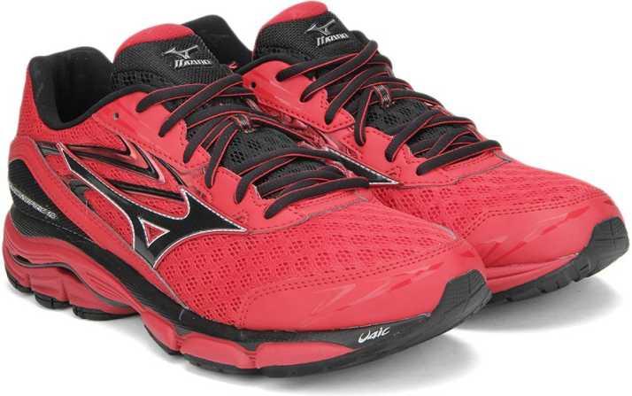 e7882292b377 Mizuno WAVE INSPIRE 12 Running Shoes For Men - Buy RED/BLACK/GREY ...