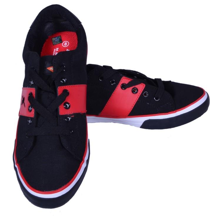 Sparx Canvas Shoes For Men - Buy Black