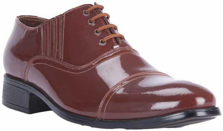 9e06716c49 Alden Shoes Police Uniform Lace Up Shoes For Men - Buy Brown Color ...