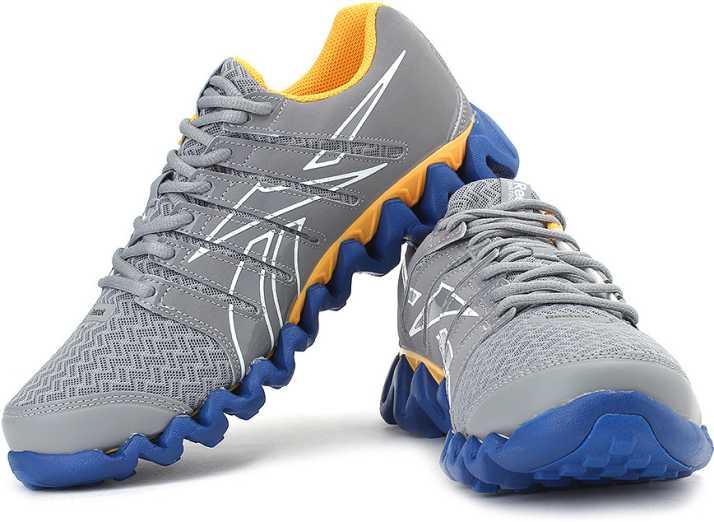 debate el viento es fuerte déficit  REEBOK Zigtech Shark 3.0 Running Shoes For Men - Buy Grey, Blue ...