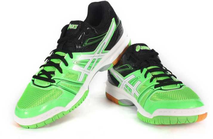 perdí mi camino Comprensión espada  Asics Gel-Rocket 7 Men Multi Court Shoes For Men - Buy Neon Green Color Asics  Gel-Rocket 7 Men Multi Court Shoes For Men Online at Best Price - Shop  Online for Footwears