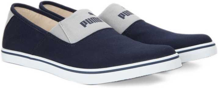 41a8a8aff065dc Puma Elara Slip On IDP Loafers For Men - Buy Mazarine Blue-Quarry ...