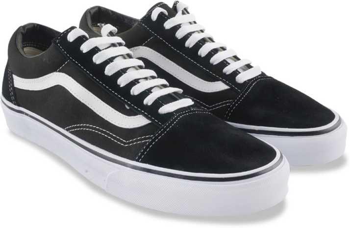 Vans Old Skool Sneaker For Men - Buy Black White Color Vans Old ... 5c35af965