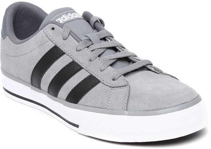 ADIDAS NEO Casual Shoes For Men - Buy GREY/CBLACK/FTWWHT Color ...